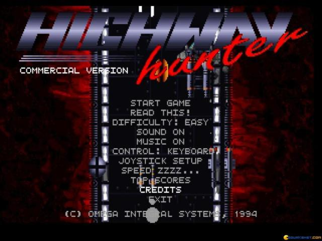 Highway Hunter - title cover