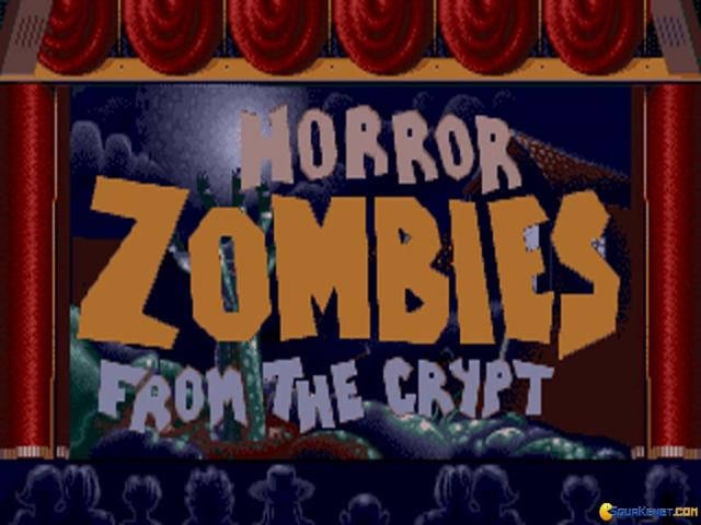Horror Zombies from the Crypt - title cover