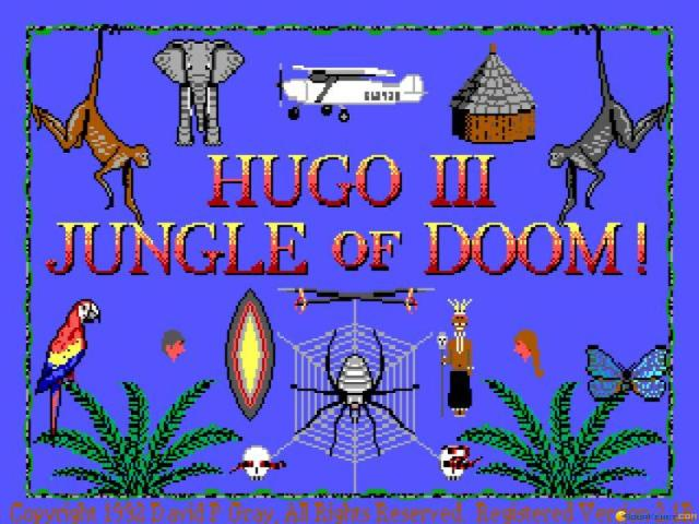 Hugo 3: Jungle of Doom - title cover