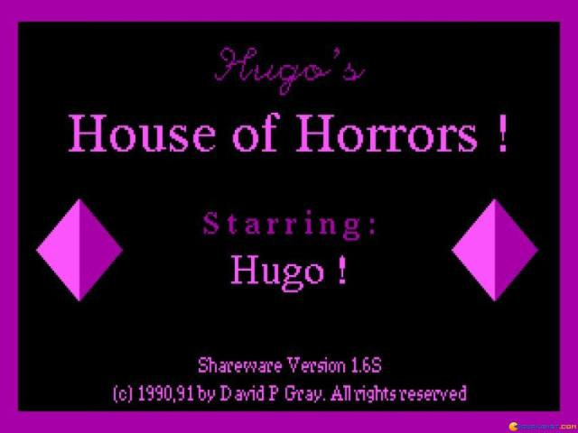 Hugo's House of Horror - title cover