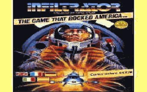 Infiltrator - title cover