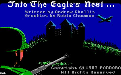 Into the Eagle's Nest - title cover