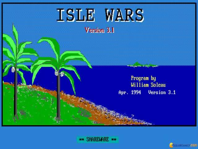 Isle Wars - title cover