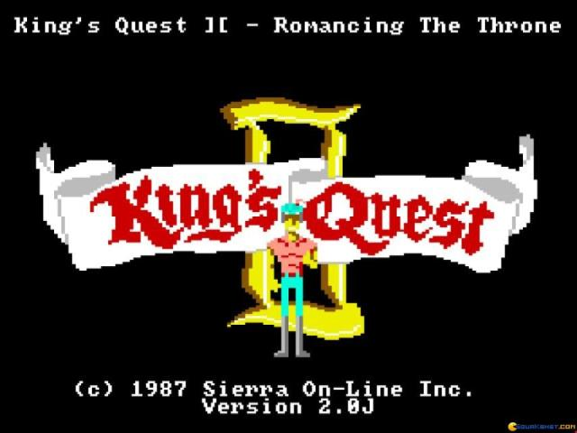 King's Quest 2 - title cover