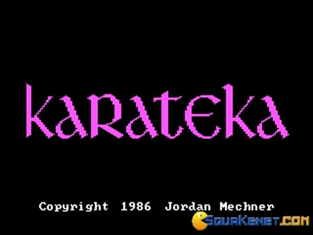 Karateka - game cover