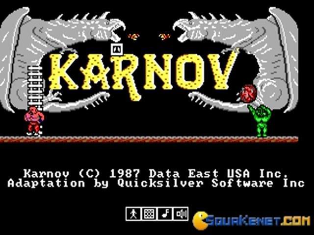 Karnov - title cover