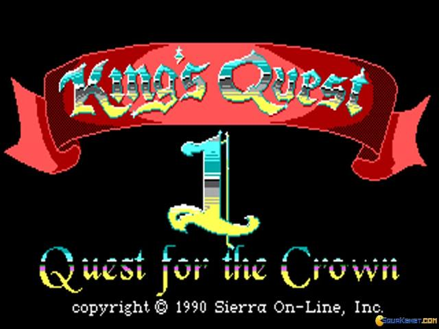 King's Quest 1 - title cover