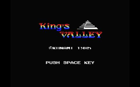 King's Valley - game cover