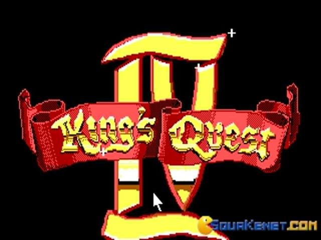 King's Quest 4 - title cover