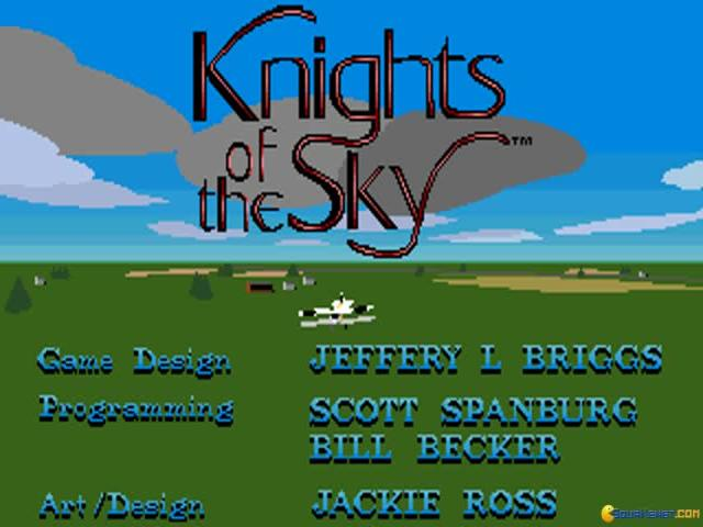 Knights of the Sky - game cover