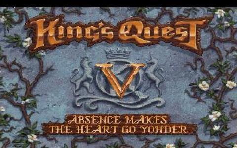 King's Quest 5 - title cover