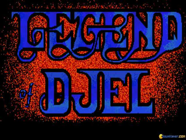 Legend of Djel - title cover