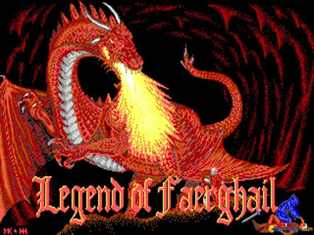 Legend of Faerghail - title cover