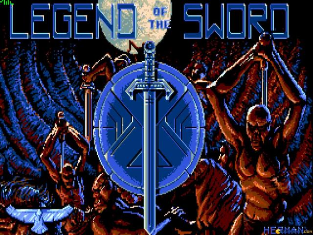 Legend of the Sword - title cover