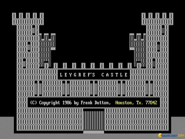 Leygref's Castle - title cover