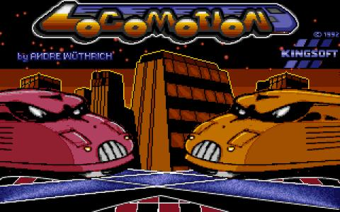 Locomotion - title cover