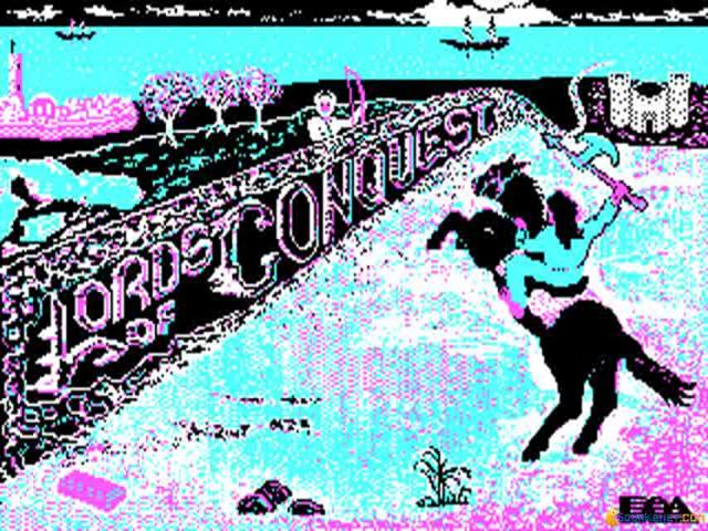 Lords of Conquest - title cover