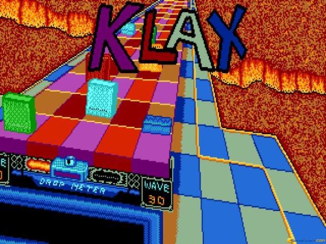 Klax - title cover