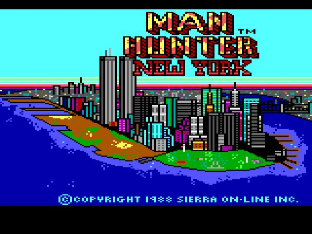 Manhunter - New York - game cover