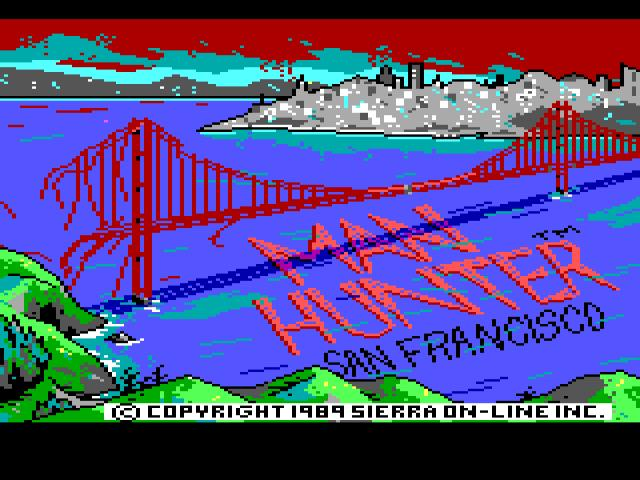 Manhunter 2 - San Fransisco - title cover