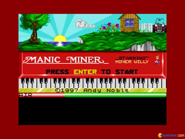 Manic Miner - title cover