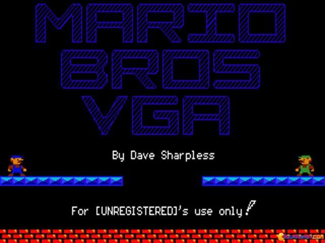Mario VGA - game cover