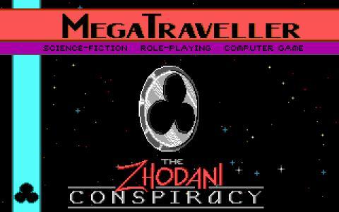 Megatraveller - game cover