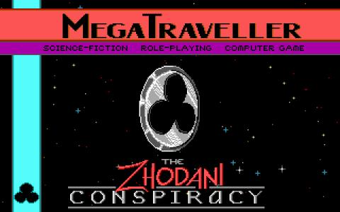Megatraveller - title cover