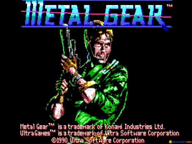 Metal Gear - title cover