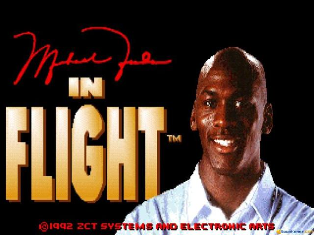 Michael Jordan in Flight - title cover