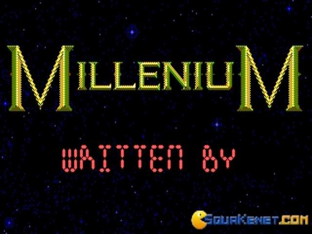 Millenium 2 - title cover
