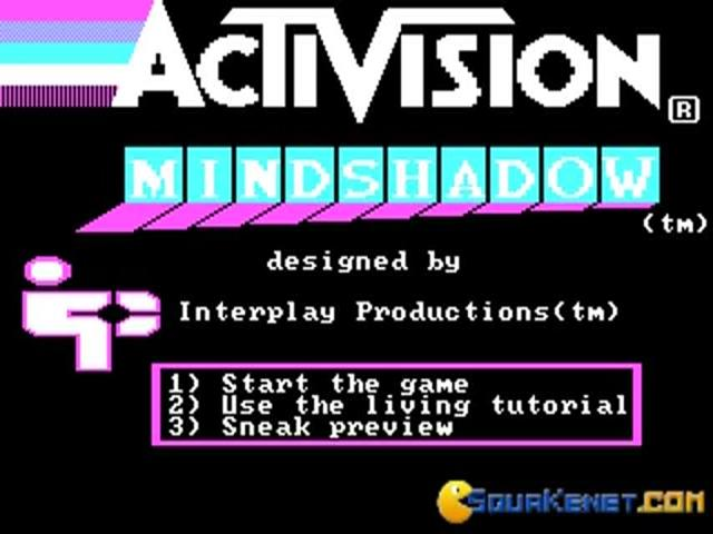 Mindshadow - game cover