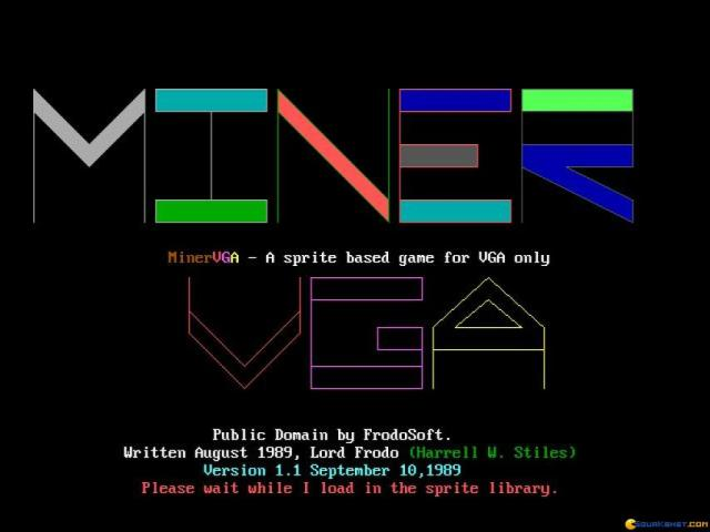 Miner VGA - game cover
