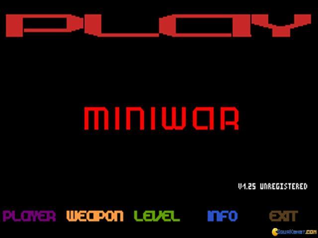 Miniwar - title cover