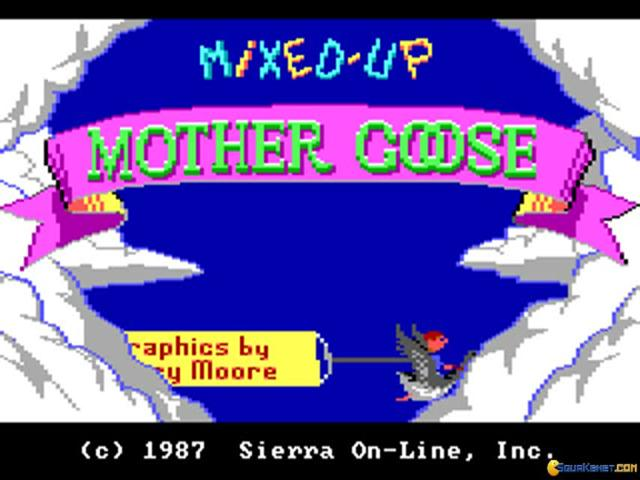 Mixed up Mother Goose - game cover