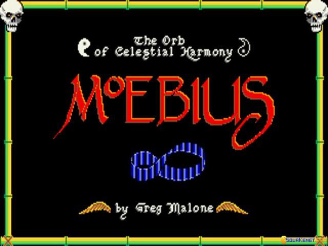 Moebius - title cover