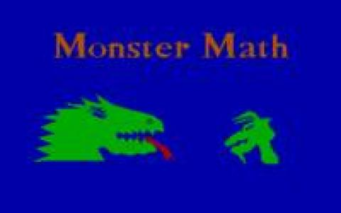 Monster Math - game cover