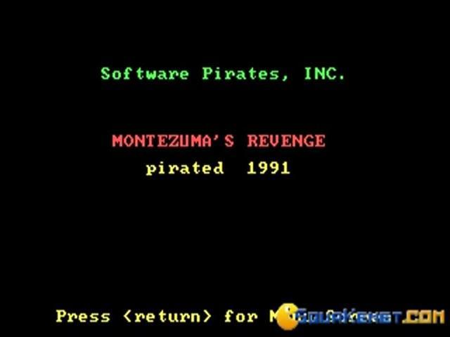 Montezuma's Revenge - title cover