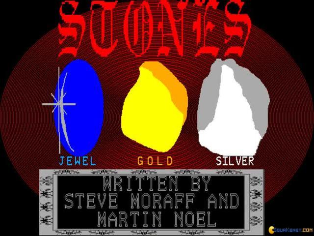Moraff's Stones - game cover