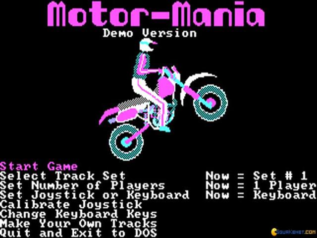 Motor Mania - title cover