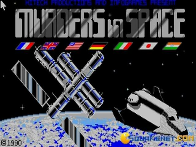 Murders in Space - title cover