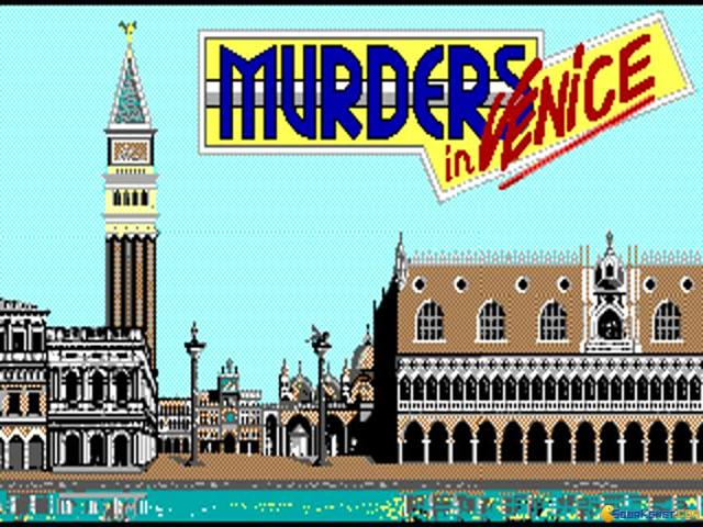 Murders in Venice - title cover