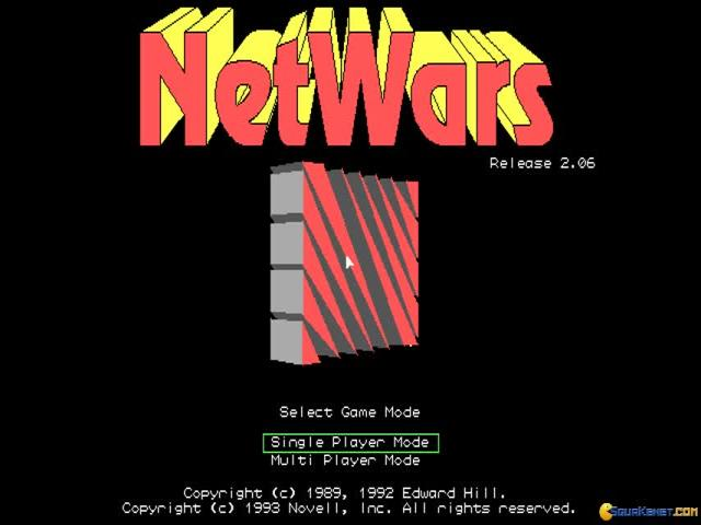 Netwars - game cover
