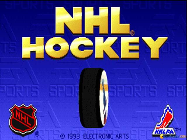 NHL Hockey - title cover