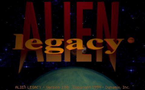 Alien Legacy - game cover