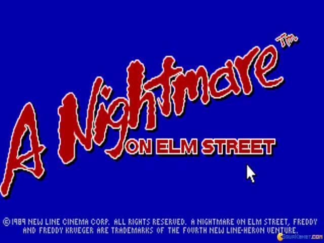 Nightmare on Elmstreet - game cover