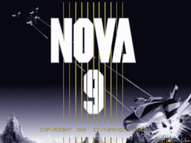 Nova 9 - Return of Gir Draxon - title cover