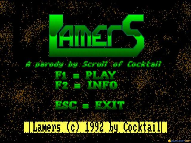 Lamers - game cover