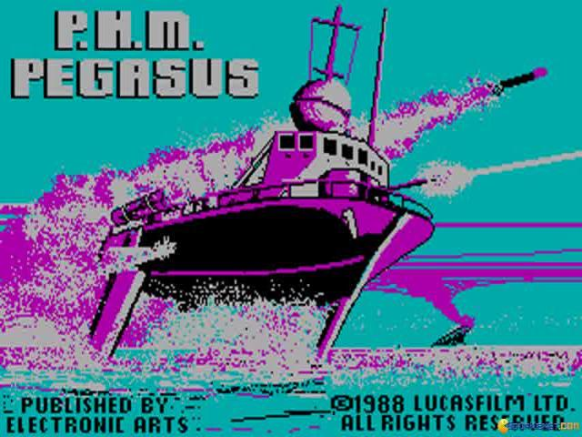 P.H.M. Pegasus - title cover