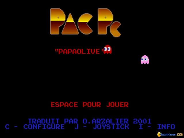 Pac PC - game cover